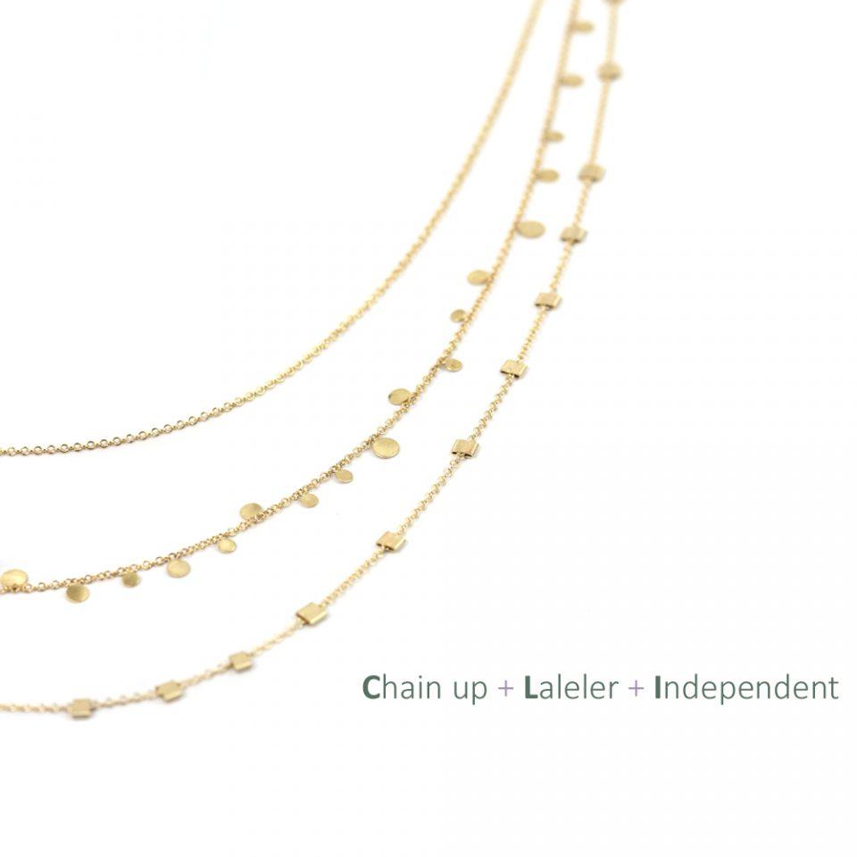 Independent. Short necklace