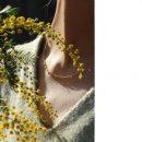 Thin chain necklace with mini round pendants in yellow gold _ maschio gioielli milano (11)