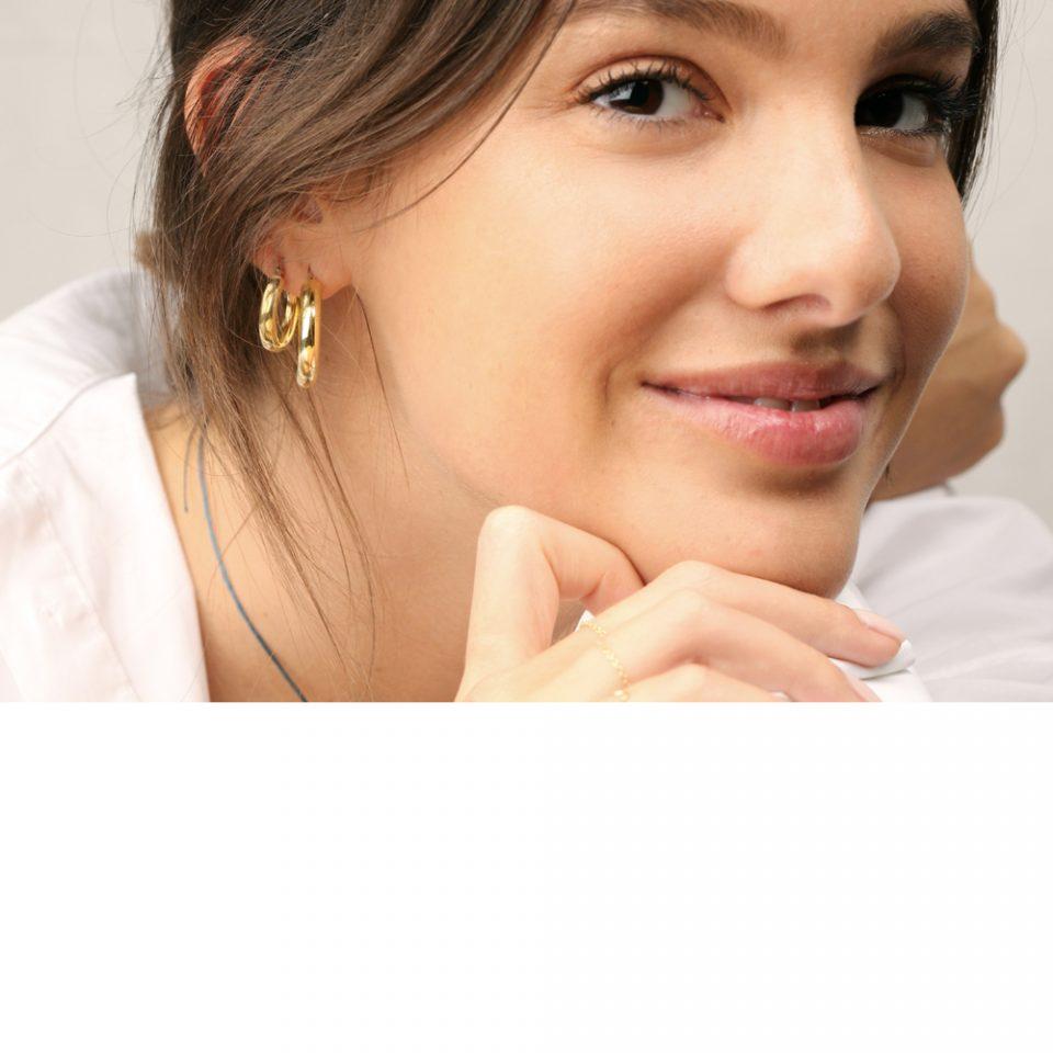 Tʑiə ʬəltʑ. Single earring