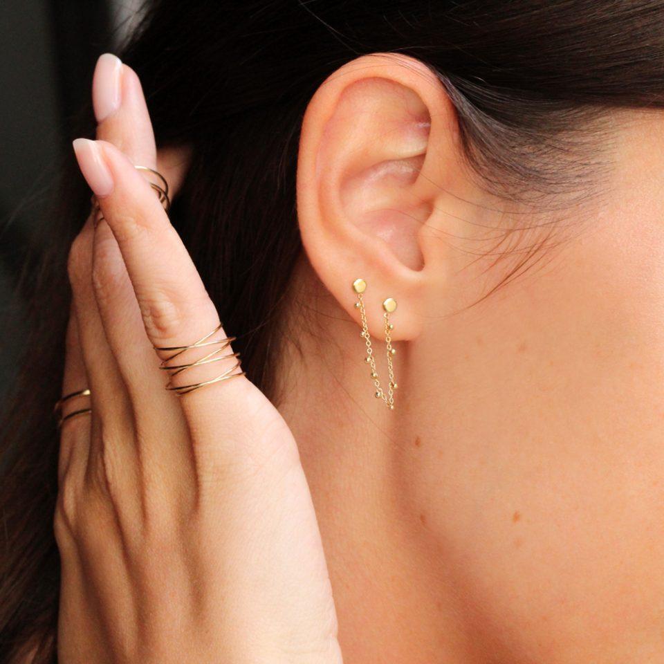 Martina sul ribes. Single earring