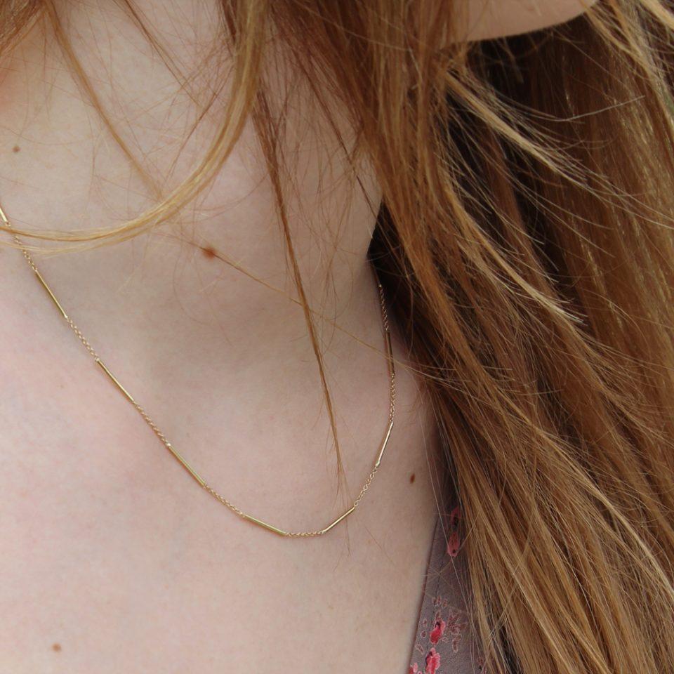 Teəse meʝ. Necklace