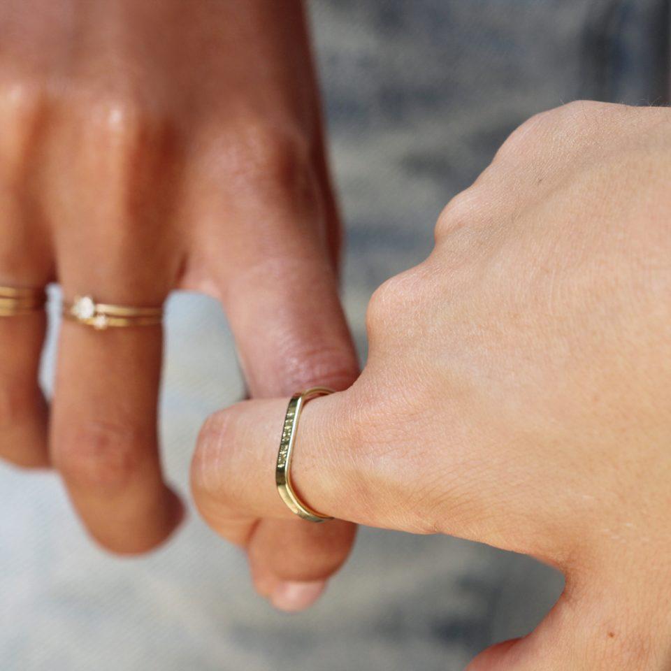 Be ʑero ʘnə. Ring